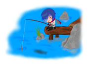 少年剣士の休息