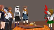 【MMD艦これ】うちのコントコーナーにゼナちゃんが参加してくれました2【ゼナちゃんの鎮守府巡り】