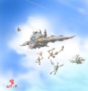 攻撃空母型MS「ボーガウル」