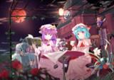 月下の茶会