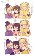 With 3 Friends☆