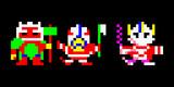【ドット絵】雷神、犬、鬼。【戦国無双4】