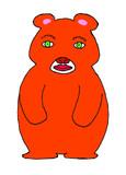 人顔動物⑦ クマ