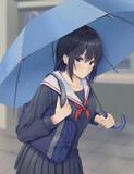 傘忘れたの? じゃ一緒に帰ろっか