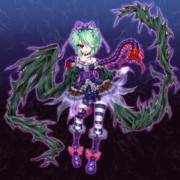 第15回 東方Project 人気投票支援絵 黒姫リグル