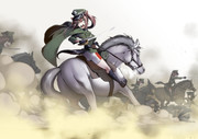 ポルスカ、騎兵突撃
