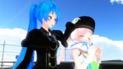 ポニてミクさんの日常 [190203] ☆Happy Birthday Sister☆