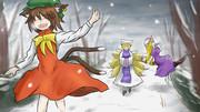 雪と八雲家