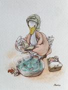 白鳥の足湯
