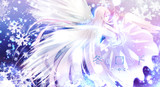 雪の天使【CDジャケット イラスト】