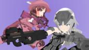 【配布】FN P90【MMD武器】