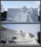 第70回さっぽろ雪まつり【10丁目広場】