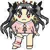 【ドット絵】FGOのイシュタルちゃん人形