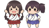 赤城ちゃんと加賀ちゃん