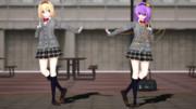【MMD】アリス&さとり