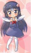 【わたてんGIFアニメ】踊るハッピー花たん♡