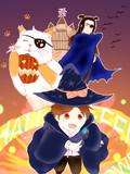 「魔法使いで引きこもり?」ハロウィン