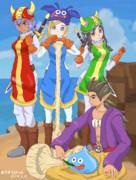 三色兵士とシドーさん【DQB2】