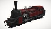 蒸気機関車ライカver2.0【MMDモデル配布あり】