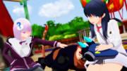 【SSSS.GRIDMAN】あるテーマパークでのこと【アカネと六花】