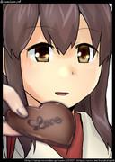 赤城:リプきたキャラの顔だけ描く