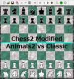 【Chess2】Animals2 vs Classic【対局】