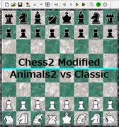 【Chess2】Animals2 vs Classic【対局】
