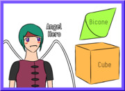 ABC (Angel-hero, Bicone, Cube)