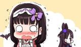 紫式部さんと同時ピックアップに震える刑部姫