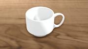 MMDモデル コーヒーカップ