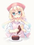 そらさんケーキ作り
