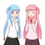 バレンタイン琴葉姉妹