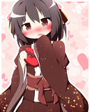 和服的なバレンタイン