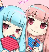琴葉姉妹でバレンタイン