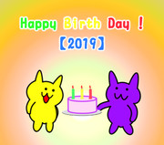 【すずねこ】Happy birth day !【誕生日】