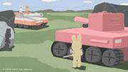 春昼や 草原に鳴る 砲の音