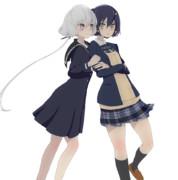 水野愛&紺野純子