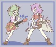 鳥獣伎楽ツインギター