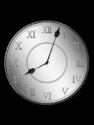 動画素材(早回し時計1)