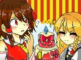 皆で作ったケーキ☆★