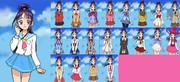 プリキュア制服コレクション8