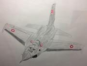 Dansk luftvåben F-16 Fighting Falcon