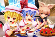 【レミフラ!】美味しいカップケーキを がぶりっ♪