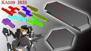 【MMD武器】KA039  IRIS / アイリス【魔導防盾】