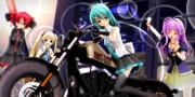 【らぶさんナイト】バイクで 出発だっ☆