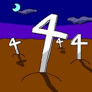 夜中の4字架