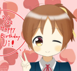 平沢憂ちゃん誕生日おめでとう♪