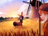 小麦畑の君