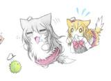 マリモ提督とポーラ猫とザラ猫