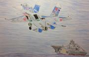 Су-33 и Адмирал флота Советского Сюоза Кузнецов